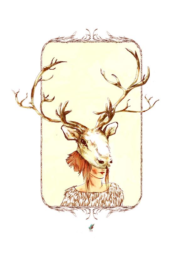 caribou girl
