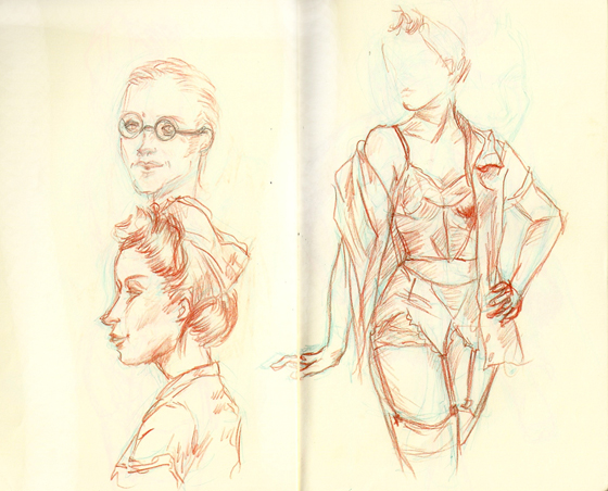 Dr Sketchy anti-art school - Paris Libéré